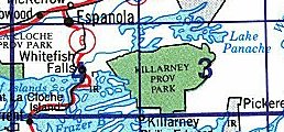 Killarney topographic maps