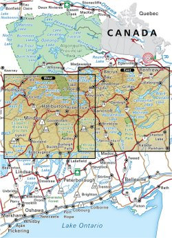Map Of Bancroft Ontario Canada Bancroft District Crown Land Map